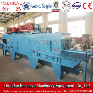 Spring strengthening shot blasting machine