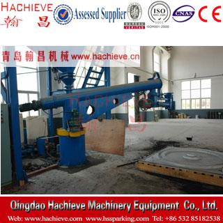S25 series Fixed double arm continuous sand mixer