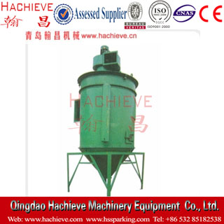 Mechanical rotary reverse blow bag type dust collector